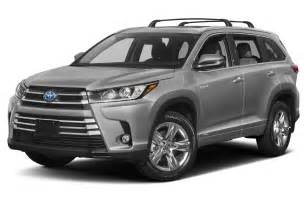 All Toyota Suvs New 2017 Toyota Highlander Hybrid Price Photos Reviews