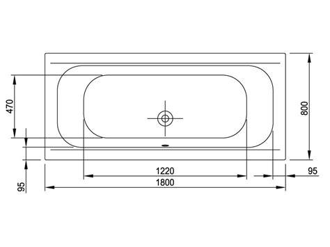 badewannen abmessungen badewanne 180 x 80 cm jungborn badkeramik und wannen
