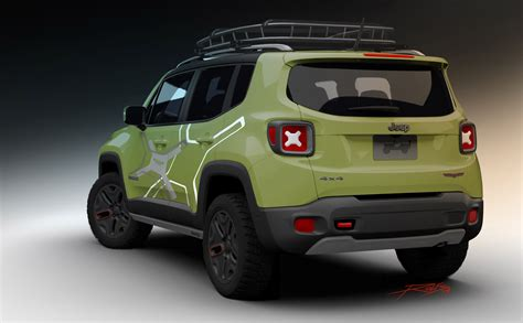 jeep renegade trailhawk lifted moparized renegades heading to detroit kevinspocket