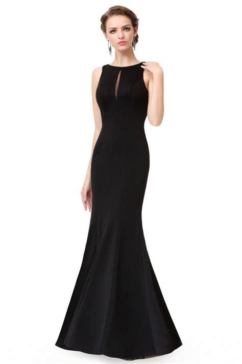 Sleeveless Mermaid Evening Dress simple black sleeveless mermaid evening dress 56