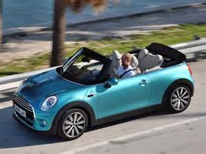 Mini Cooper Blue Convertible 2016 Mini Convertible Debuts In Tokyo Kelley Blue Book