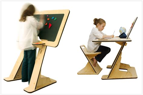 kid at desk artevital your creative magazine simple genius a desk that grows with your kid