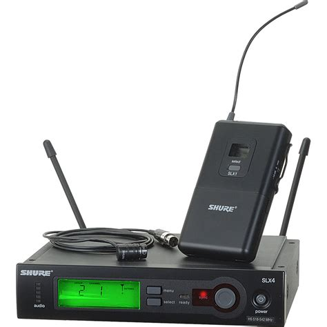 Shure Slx 24beta58 Wirelees Microfone shure slx series wireless microphone system slx14 84 h19 b h