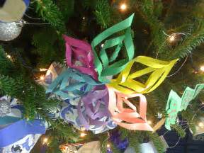 handmade construction paper ornaments flickr photo