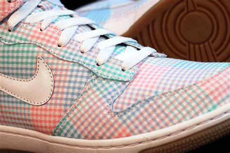 Nike Gingham Dunks From Outfitters by Nike Sportswear Dunk Hi Gingham Lacrosse Playground