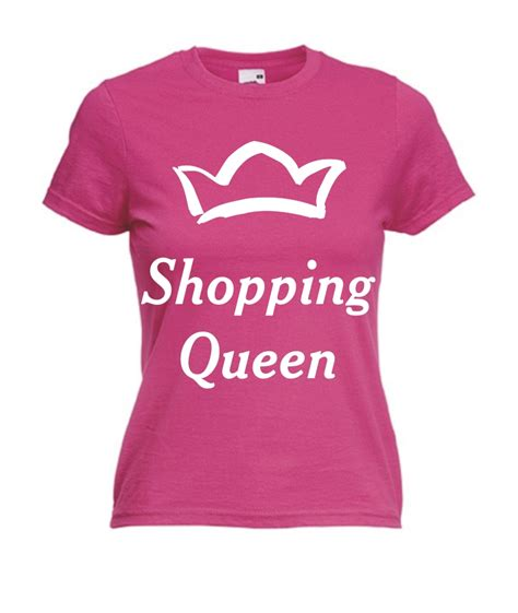 T Shirt Shopping Motiv T Shirt Damen Shopping 2 Fafuar Onlineshop
