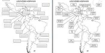 Spanish Speaking Countries Blank Map by Spanish Speaking Countries Maps And Quizzes Includes