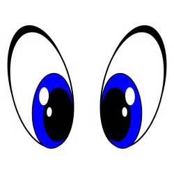 clipart big eyes