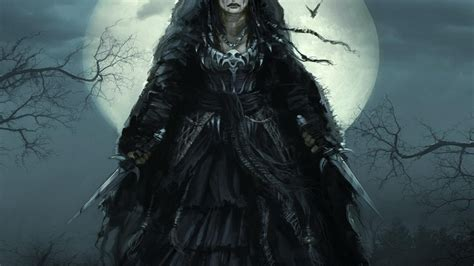 imágenes brujas wallpapers fondos bruja fantasia luna wallpaper 2560x1440 866334
