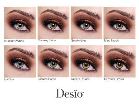 best color contacts for dark brown eyes desio color contacts chart contacts specifically made to