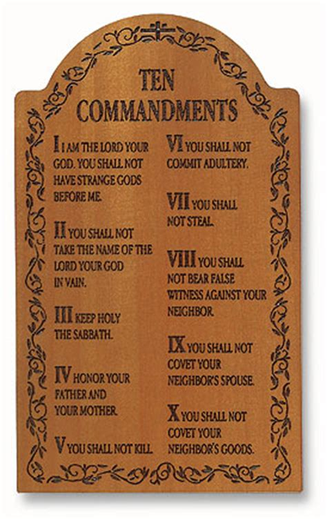 printable version ten commandments catholic 10 commandments catholic