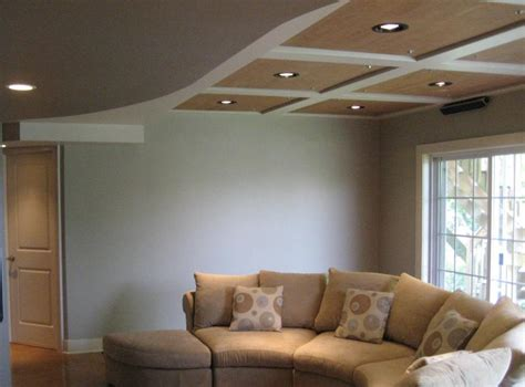 Low Ceiling Finished Basement by Finished Basement Ideas Low Ceiling
