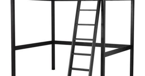 stor 197 loft bed frame black loft bed frame lofts and