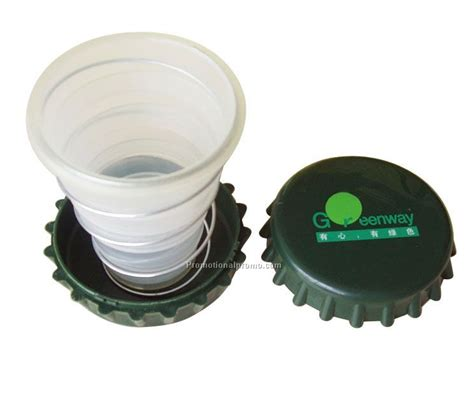 Promo Collapsible Pocket Cup Gelas Lipat Foldable Cup plastic advertising collapsible cup folding cup china wholesale