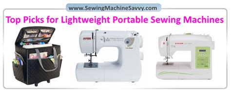 the savvy seamstress an illustrated guide to customizing your favorite patterns books best portable lightweight sewing machines my top 4 picks