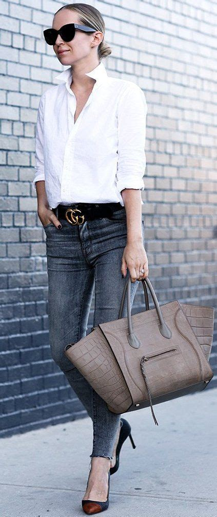 classic wardrobe 60 trending fall outfits ideas inspired by street style classic white and celine