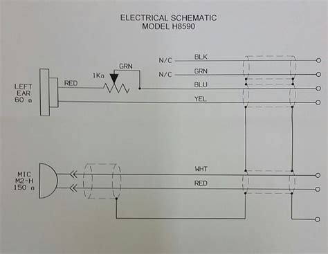 david clark headset wiring schematic 36 wiring diagram