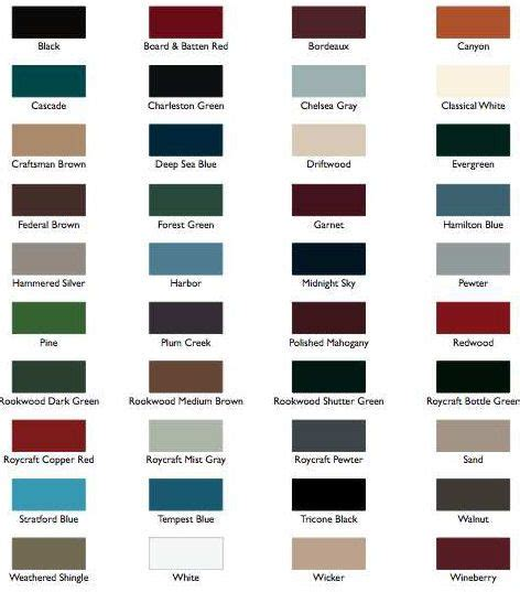 mid america shutter colors 20 best images about exterior shutter colors on