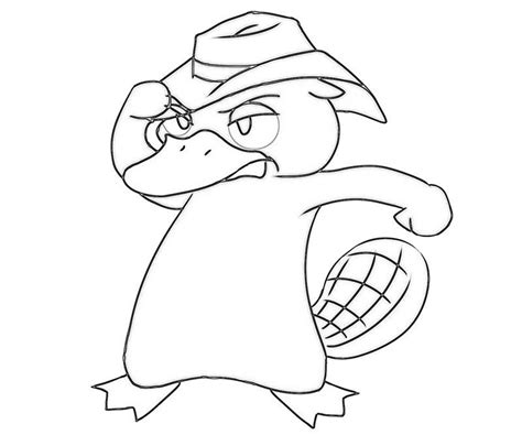 free coloring pages of l platypus