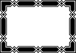 Black border design archives page designs nice and white book clipart