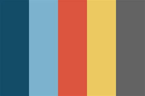 flat color palette primary flat palette color palette