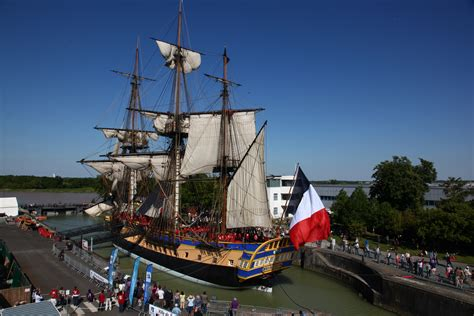 hermione bateau voyage lafayette s hermione voyage 2015 national maritime