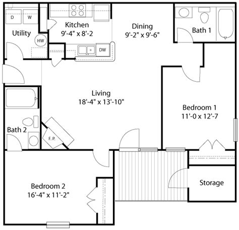 Living Room Layout By Size Glade Creek Roanoke Va Apartments Floor Plans And