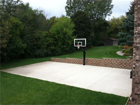 backyard sports court prices best backyard basketball court
