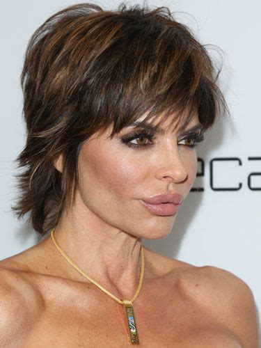 can thin hair look good with a lisa rinna hair cut 33 best images about shag hairstyles on pinterest short