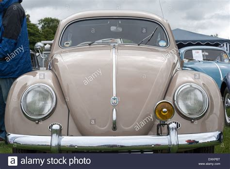 volkswagen beetle front view classic volkswagen beetle front view stock photo royalty