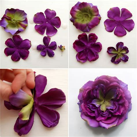 make fabric flowers craft snob