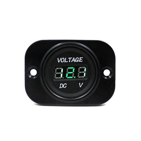 Voltmeter Digital Luminos Waterproof waterproof voltmeter car auto motorcycle dc 12v 24v led digital voltmeter meter ebay