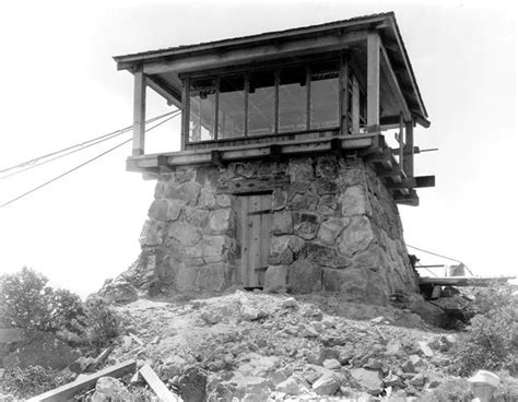 fire lookout tower plans gardner fire lookout the 1920th built this tower between