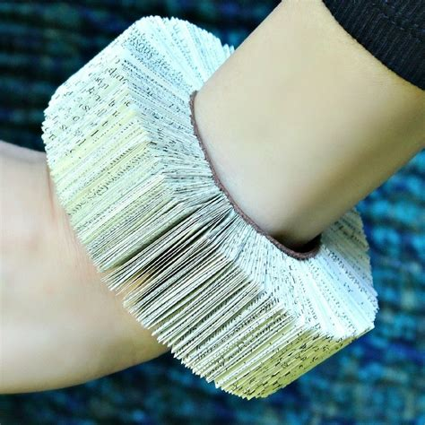 How To Make Bracelets Out Of Paper - book bracelet 183 how to make a paper bracelet 183 jewelry on