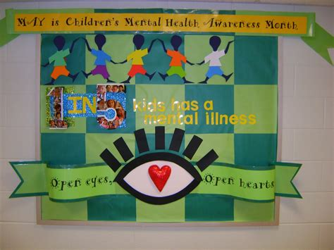 volunteer for free room and board elementary counseling mental health awareness month done by my awesome parent volunteer
