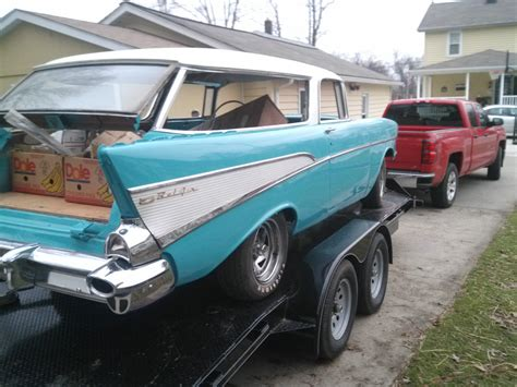 nomad car for sale 1957 chevy nomad project car for sale autos post