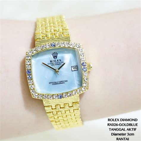 Jam Tangan Aigner Rantai Tanggal Aktif Premium Fashion jual jam tangan premium jam tangan wanita rolex rantai pesta tanggal aktif murah fossil guess