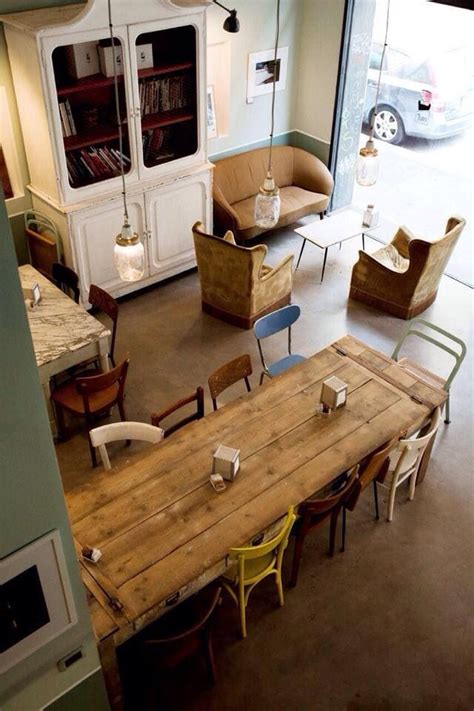 25  best ideas about Small cafe design on Pinterest   Small cafe, Small coffee shop and Coffee