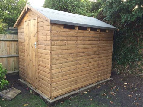 Secure Garden Sheds by Security Shed Mb Garden Building