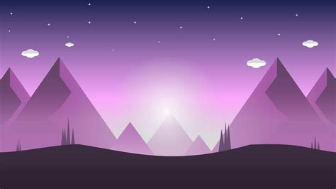 create flat nature graphics background abstract