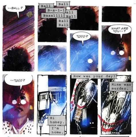 Stray Toasters thee comic column 98 bill sienkiewicz s stray toasters joup