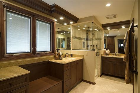transitional traditional master bathroom interior design
