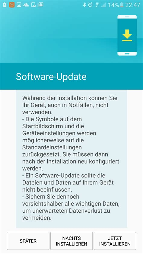 Android Update S7 by Samsung Galaxy S7 Update Auf Android 7 Jetzt Verf 252 Gbar