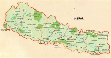 nepal on map map of nepal trekking agency in nepal nepal trekking agency trekking agents in kathmandu