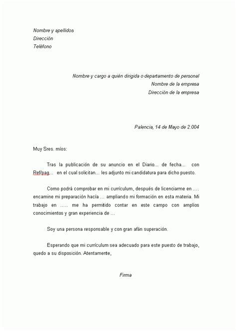 Modelo De Carta De Presentacion Curriculum Vitae Ejemplo Carta Presentacion Curriculum Vitae Curriculums Vitae