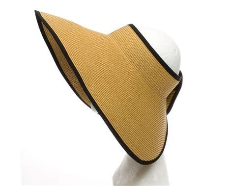 Sun Visor Hat oversized sun visor hats wholesale roll up travel visor