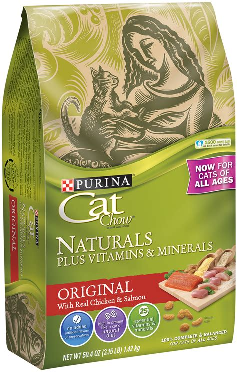 purina chow cat food purina 174 cat chow 174 products