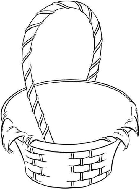easter basket coloring pages top 20 empty easter basket coloring pages most popular