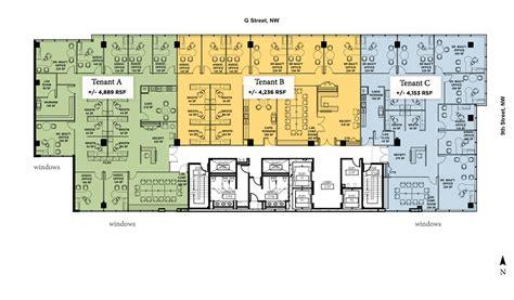 Single Floor Plans floor plans 900 g street nw washington dc
