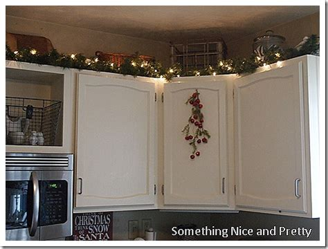 christmas decorating ideas for above kitchen cabinets decorating top of kitchen cabinets for best home decoration world class